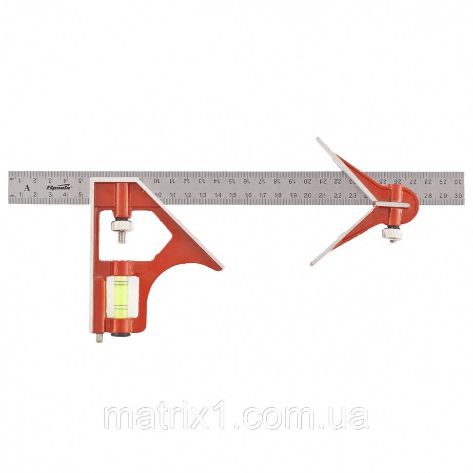 Угломер 300 мм, металлический, комбинированный SPARTA