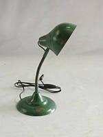 Светильник настольный SH-2027, Железный, винтажный индустриальный дизайн. Цвет зелёный. Ручная работа. Сделано