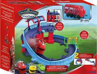 Детская игрушка  Станция техосмотра, с Уилсоном Паровозик Chuggington Die-Cast Артикул  Tomy