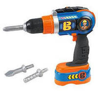 Детская дрель Bob The Builder Electronic Toy Drill NEW