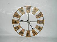 Часы настенные SH-2044, Железные, винтажный индустриальный дизайн. Цвет стальной. Ручная работа. Сделано в Инд