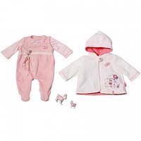Одежда для Baby Annabell - Комбинезон и куртка с капюшоном Baby Born Zapf Creation Беби Борн