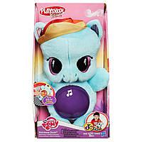 Мягкая плюшевая пони Playskool My Little Pony - Рейнбоу Дэш (свет, звук)   B1652