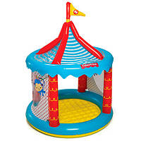 Игровой центр Цирк надувной, 104х137 см, от 2х лет 93505. BestWay.