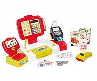 Игровой набор Кассовый аппарат выдает чек, дисплей Smoby 350107