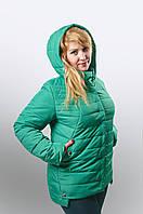Женская куртка из плащевки большой размер