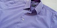 Mужская рубашка в клетку Размер Л