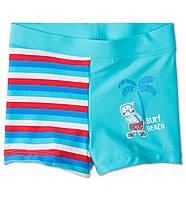 Детские плавки для мальчика.  9-12 месяцев