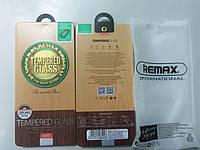 Защитное cтекло Remax Clear для Apple iPhone 5/5s/5se 0.2mm 9H + защитная плёнка на заднюю панель