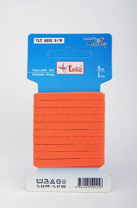 6mm Flat Elastic / Strong / 5m / Color, фото 2