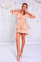 Платье  Ткань - евробенгалин. В комплекте декоративная подвеска и пояс. 3 цвета апро №144