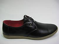 Кожаные мужские туфли ТМ ТОР HOLE