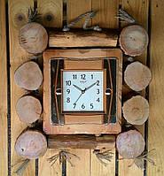 Настенные деревянные часы