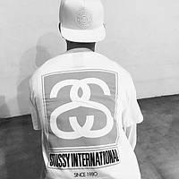 Футболка Stussy International 1980 лого