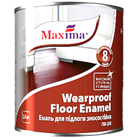"""Эмаль ПФ-266 для пола износостойкая TM """"Maxima"""" (желто-коричневая) 2,8 кг"""