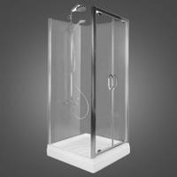 Душевые двери Devit Katarina 90x190 стекло прозрачное (120.905.069.321)
