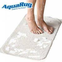 Антискользящий впитывающий коврик для ванной комнаты Aqua Rug