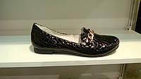 Туфли женские  из натуральной кожи и лака высокого качества