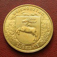 Польша 2 злотых 2004 г., 'Люблинское воеводство'