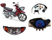 Запчасти к 4-х тактным китайским мопедам Вайпер Актив / Viper Active 70 - 110 cc