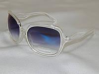 Eternal прозрачная оправа, белые полоски 770137