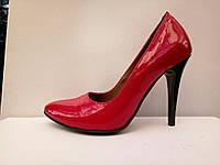 Туфли лодочки на каблуке, шпильке
