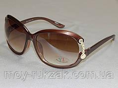 Солнцезащитные очки женские коричневые 760119