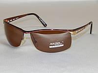 Мужские солнцезащитные очки Matrix, коричневые 780116