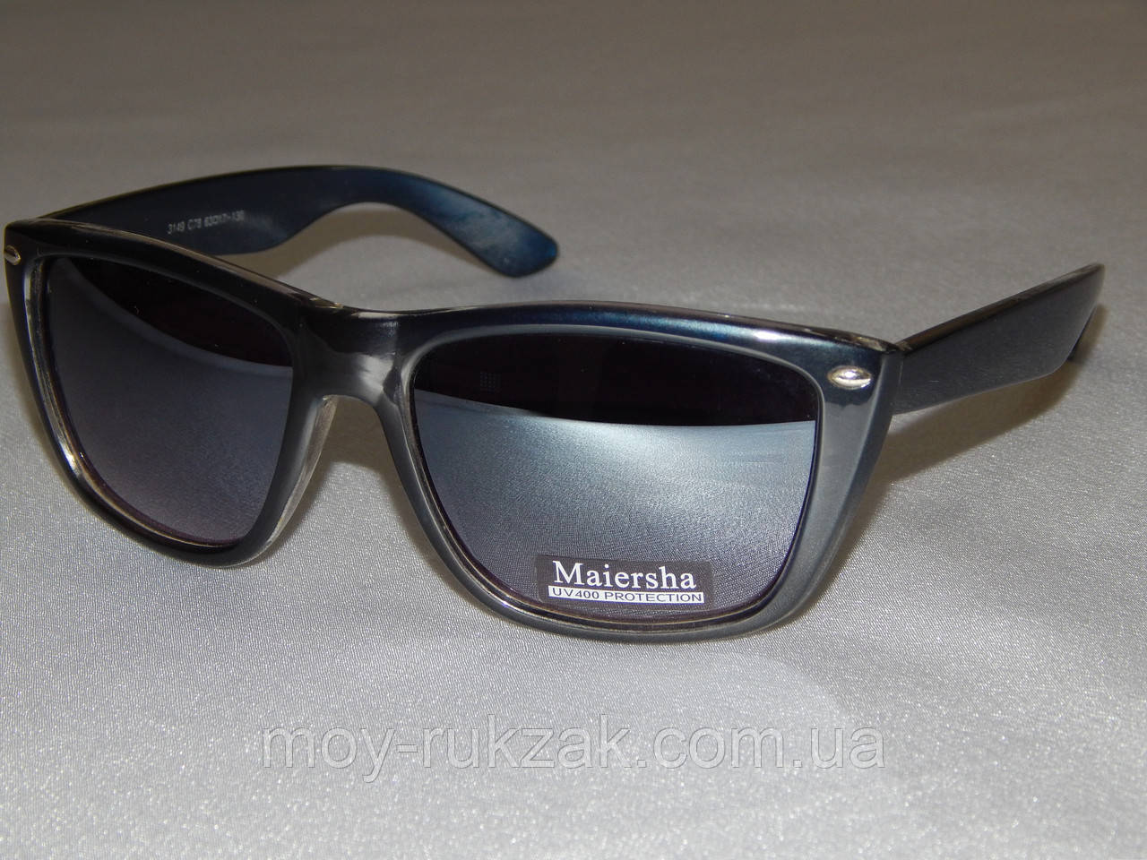 Солнцезащитные очки, Maiersha темно - синие 760130