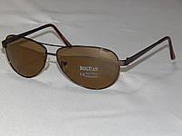 Солнцезащитные очки мужские, классические капли, линзы - стекло 800107
