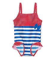 Детский купальник для девочки. 9-12, 12-24 месяца