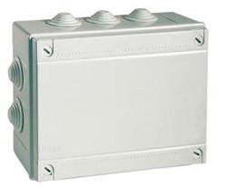 Коробка відгалуж. з кабельними вводами, IP55, 380х300х120мм (54400)