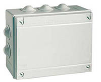 Коробка відгалуж. з кабельними вводами, IP55, 190х140х70мм (54100)