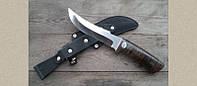 Нож охотничий КЛЫК кожа, бренд  АиР Златоуст, высококачественная сталь, стильный дизайн