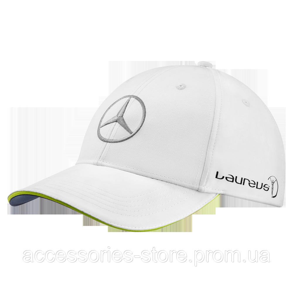 Бейсболка унисекс Mercedes Unisex Cap, Laureus, White