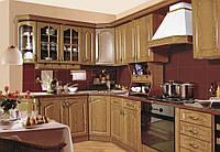 Кухонный компактный комплект для малогабаритных квартир по доступной цене размер 2,2м и 2.8м Юля МДФ