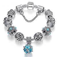 Женский браслет Pandora шарм пандора