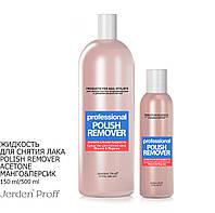 Жидкость для снятия лака Jerden Proff Polish Remover Acetone Манго&Персик 500 мл