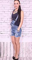 Комбинезон женский джинсовый шортами R.Display (код RV-3366)