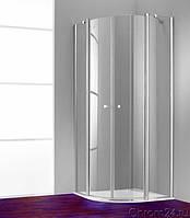 Душевые двери HUPPE 501 Design pure  100x190 стекло прозрачное (510602)