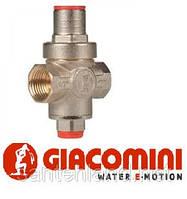 """Редуктор давления воды Giacomini 1/2"""" R153C с гнездом под манометр"""