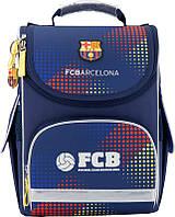 Рюкзак школьный каркасный (ранец) 501 FC Barcelona