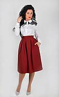"""Стильная и красивая юбка-миди  """"212"""", фото 1"""