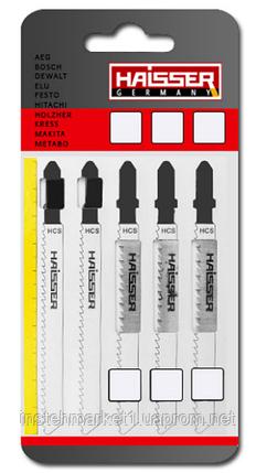 Пилочные полотна HAISSER Т101В длина 75 мм (в упаковке 5шт), фото 2