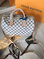 Женская сумка LOUIS VUITTON SPEEDY DAMIER (реплика), фото 1