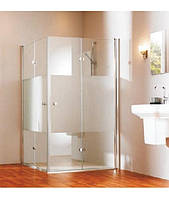 Душевые двери HUPPE 501 Design pure  100x190, правые, стекло прозрачное (510962)