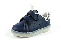 Детские кроссовки с мигалками Jong Golf A9858-1 (Размеры: 21-26)