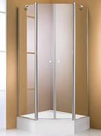 Душевые двери HUPPE 501 Design pure  100x200 стекло прозрачное (510740)