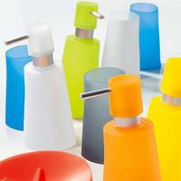 Дозатор для жидкого мыла Spirella MOVE киви, синий, белый, красный, оранжевый, желтый, серый