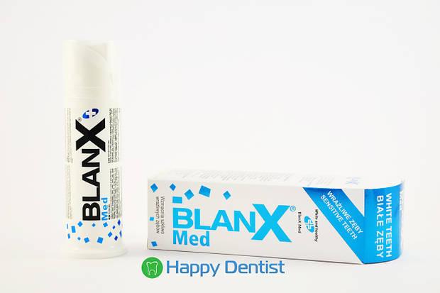 """Blanx """"Для чувствительных зубов"""" отбеливающая"""